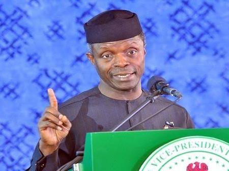 Buhari's Top Priority Is How To Lift 100 Million Nigerians Out Of Poverty - Prof. Osinbajo