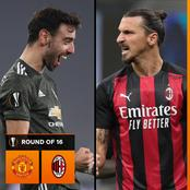 Europa League : Good News For Manchester United Ahead Of Their With AC Milan