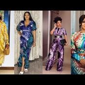 Ladies, Check Out Adire With Different Beautiful Styles And Designs