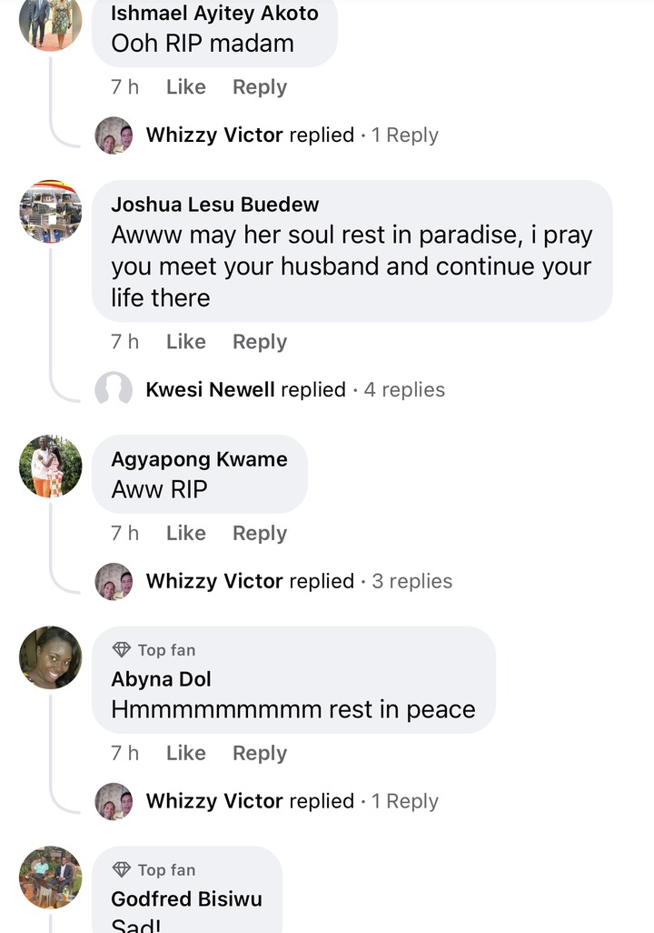 273db086665b4fcf90244f77c0902e4b?quality=uhq&resize=720 - COVID-19: Ghanaians Pour Down Their Condolences To The Late Widow Of The Former Ayawaso West MP