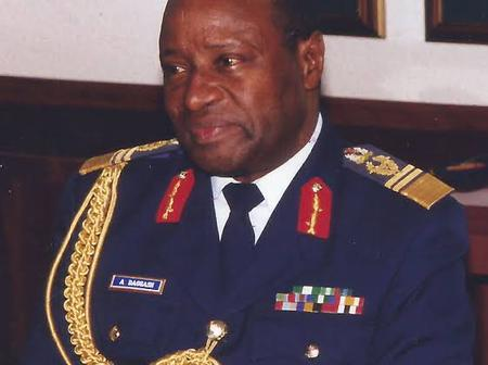 Meet The First Non - Army To Become NDA Commandant And Chief Of Defence Staff In Nigeria's History