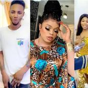 Bobrisky Gives Money To Three Fans Who Drew Tattoo Of Her On Their Body.