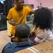 Drama As Man Took Back Wig He Bought For His Girlfriend After He Allegedly Caught Her Cheating