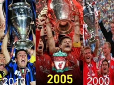 UEFA Champions League Winners From 1990 To 2020