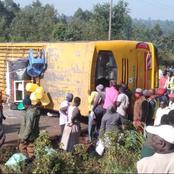 Grisly Accident Reported Along Kimilili in Bungoma Leaving Scores Injured