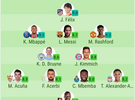 The Strongest UEFA Champions League Lineup of the Week, England With Three Players