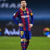 Messi Sets Unwanted Record in Supercopa Loss