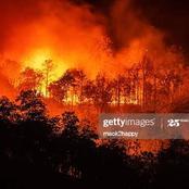 Video: Fire Breaks Out In Aso Villa