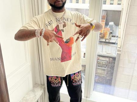 Davido Allegedly Seen Kissing His New Girlfriend Passionately In USA