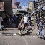 Just in: Chaos! At Hillbrow