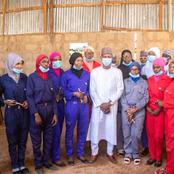 Photos: First Female Mechanic Workshop In Sokoto Graduates First Set Of Trainees