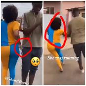 Hottest slay queen caught stealing Iphone X from a guy-check out photos