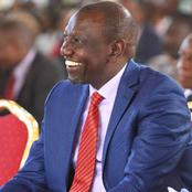 VIDEO - Unstoppable Ruto Received Like A King In Uhuru's Background As Residents Give Him A New Name