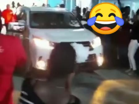 Video: Church Members Contribute Money And Bought A Car For Their Pastor While They Walk On Foot