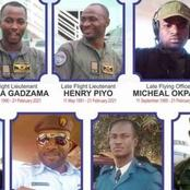 Burial of the Seven Airforce Officers who died in then Abuja Plane Crash.