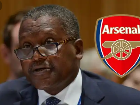 Billionaire Aliko Dangote has finally revealed when he will buy Arsenal FC, see when it is.