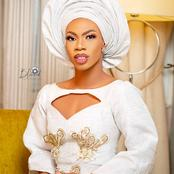 James Brown shares New Pictures looking Beautiful in Makeup and Gele