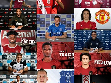 100% Completed Done Deals For EPL Clubs, Check Out Whom Your Team Signed.