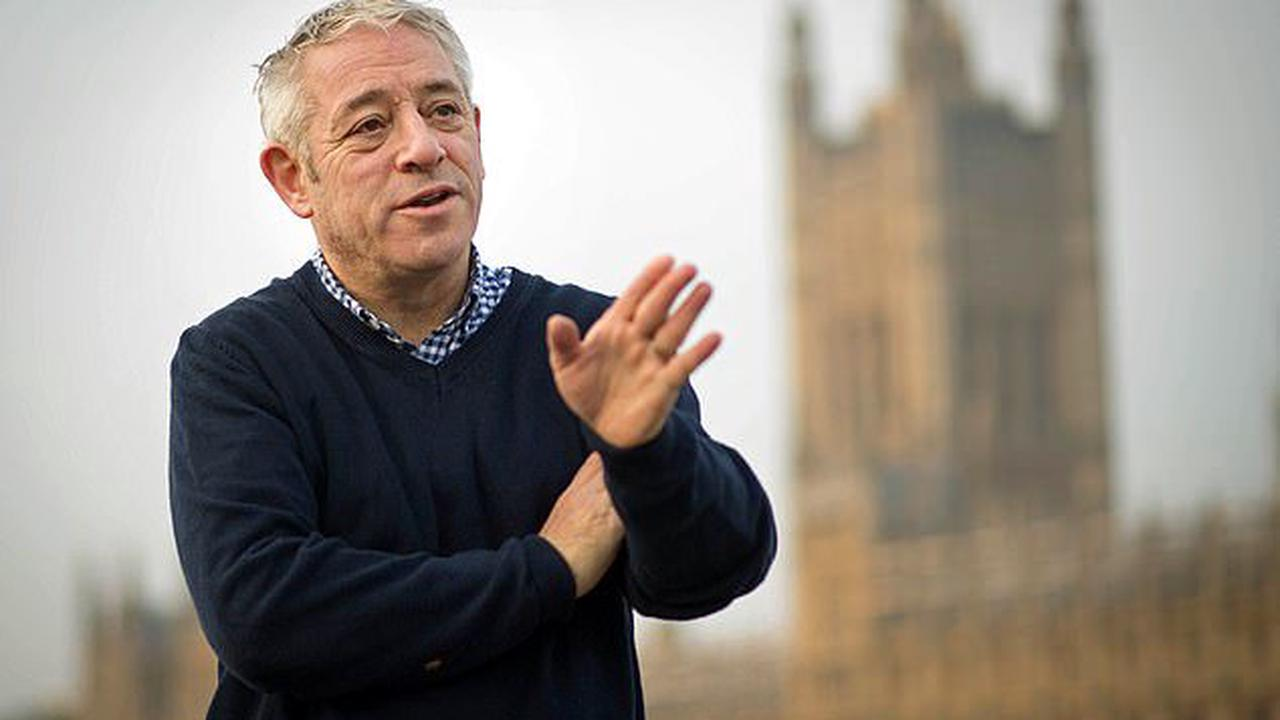 John Bercow 'begged Jeremy Corbyn' for help in getting a peerage when he was snubbed by the Tories after stepping down as Speaker