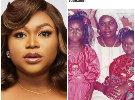 Ruth Kadiri Shows Off Her Beautiful Mother As She Turns A Year Older Today (Photos)