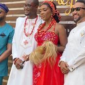 Roseline Okoro: Yvonne Okoro's sister ties the knot; KiDi, Majid Michel grace ceremony