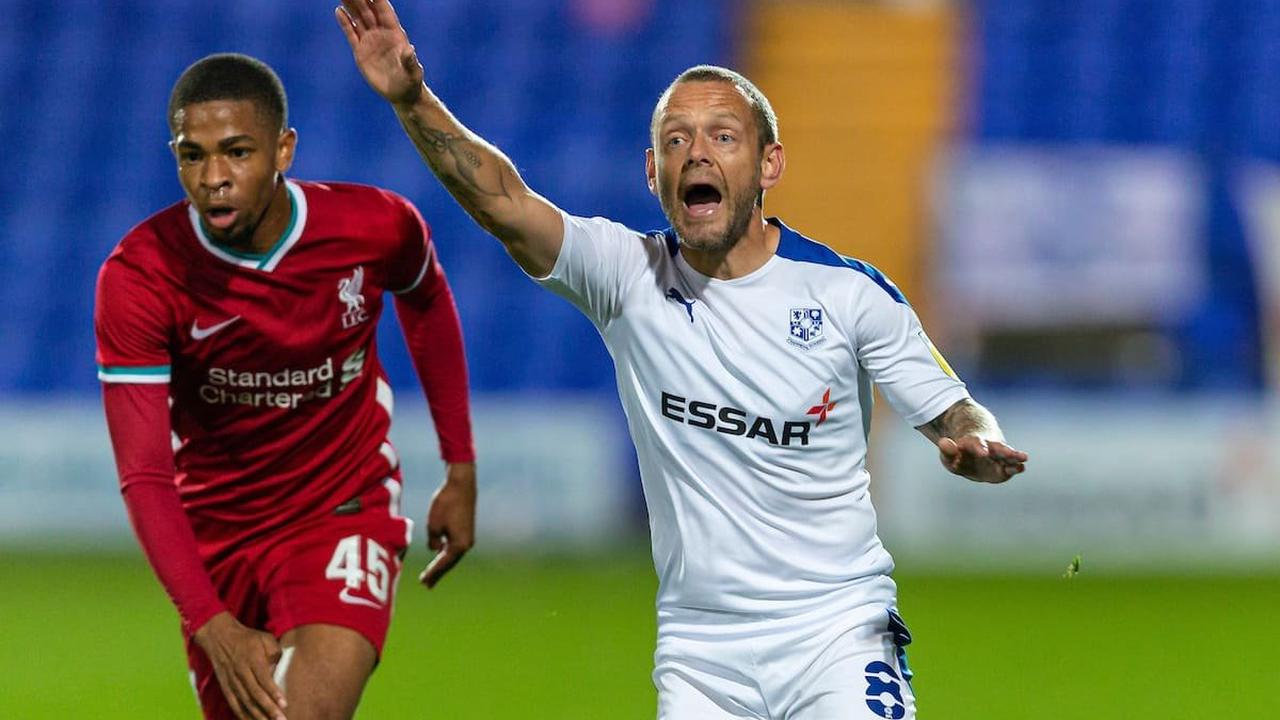 The ex-Liverpool midfielder who has become a mentor for loan striker