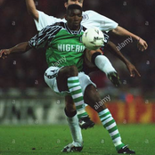 SEE The First Nigerian To Play In The English Premier League And Represent The Super Eagles Team