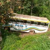 Autoroute du nord, Pk 91 / un autocar fait une sortie de route : une trentaine de victimes