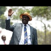 Raila's Grand Arrival in Voi as he Kicks off Coastal Tour