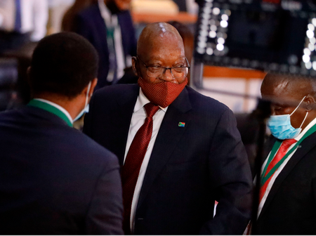 What happened to zuma's trial?