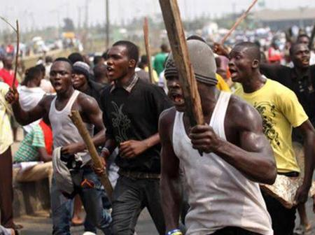 Read What Angry Mob Did To A Man Who Shot 3 Persons With A Gun Over N50 In Imo State