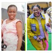 Reactions Trails Throwback Picture Of Teni When She Was Younger On Instagram