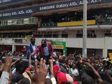 Deputy President William Ruto Tours Kisii (Photos)