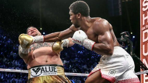 Joshua defeated Ruiz