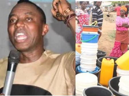 Sowore Remembers Fela Kuti's Song By Sharing Photos Of How Nigerians Are Suffering