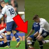 See how VAR almost ruined Chelsea 2-1 win over Tottenham last season
