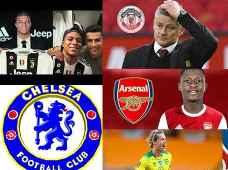 RUMORS: Kylian Mbappe To Join Juventus, Arsenal To Sign New Defender As Man UTD Set To Replace Ole Gunnar