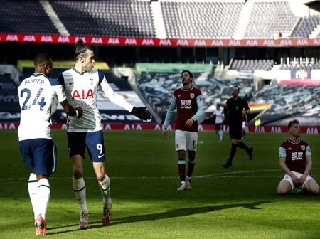 Gareth Bale scored a double as Tottenham won 4-0 against Burnley.(Opinion)