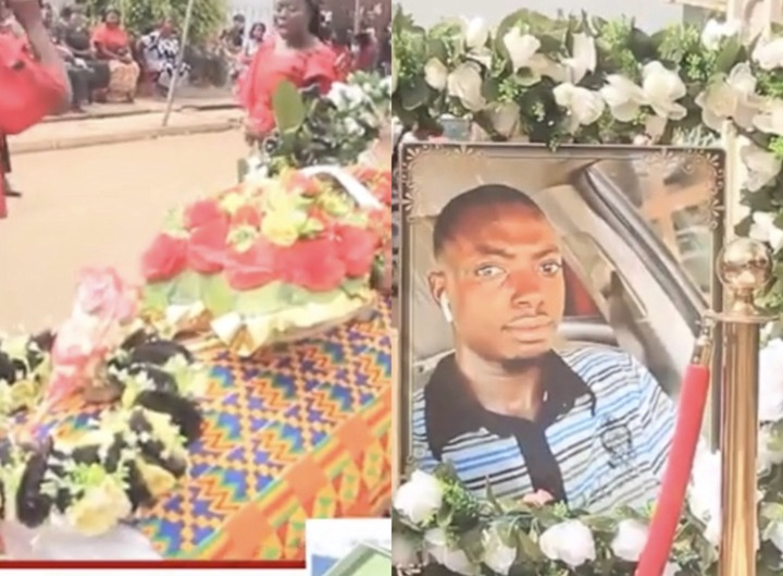 280f92e48a31355dbee707c2cb848633?quality=uhq&resize=720 - Sad: Scenes from the KNUST Uber driver funeral who was murdered by a final year student(Photos)