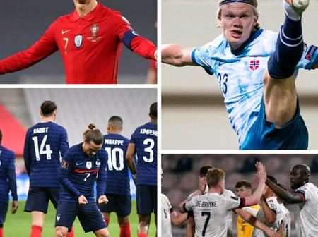 WORLD CUP qualification: check out the full results of the games played so far