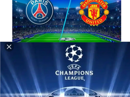 Champions League Group Stage Results As Manchester United Defeated PSG.