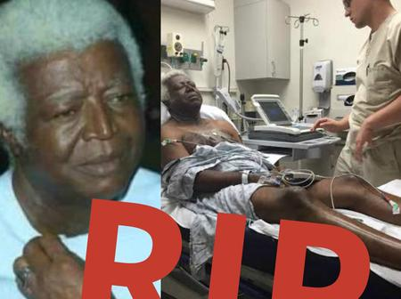 The Nollywood Actor That Died Today, See Some Photos Of Him In Hospital Before His Death