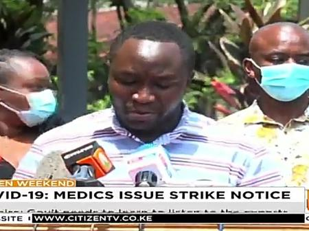 Medics Issues Strike notice if the following is not done within 14 days.