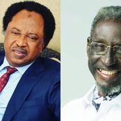 The Veteran Actor That Died Recently, See What Was Written On The Last Sticker He Sent To Shehu Sani