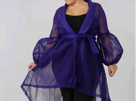 Look At 12 Classy Styles You Can Sew With Net, Organza And Satin Materials
