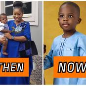 Benita Okojie's Children Are Growing Up So Fast, See Their Recent Photos