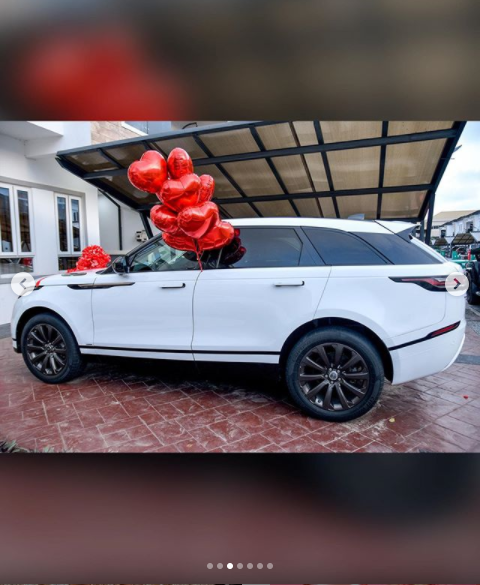 Mercy Eke buys herself?a Range Rover Velar?as birthday gift as she turns 27 (photos)?
