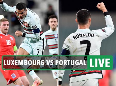 Cristiano Ronaldo on the score sheet as Portugal won 3-1 against Luxembourg.(Opinion)