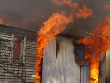 In Cape Town residents did this in someone's shack after he did this. Check here