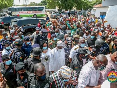 Thousands pour out to welcome Rt. Hon. Alban Sumana Bagbin [Photos]